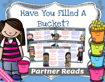 Have You Filled A Bucket Partner Reads