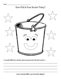 Have You Filled A Bucket Today? worksheet