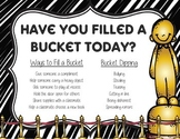 Have You Filled A Bucket Today? (Hollywood Edition)