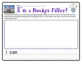 Have You Filled A Bucket Today? Writing Activity