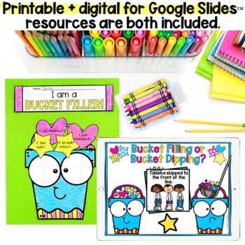 Have You Filled a Bucket Today? Bucket Fillers Craft, Bag Sorting Game, & More!