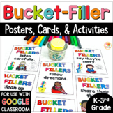 Bucket Filler Activities, Posters, and Cards