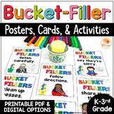 Bucket Filler Activities   Bucket Filler Printables and Posters