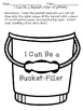 Have You Filled a Bucket Today? Writing Activities, Sortin
