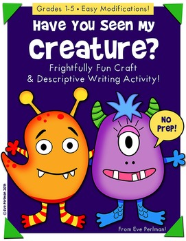 Have You Seen My Creature? Craft and Descriptive Writing