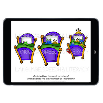 Have You Seen My Monster? No Print, Numbers, Counting & Concepts