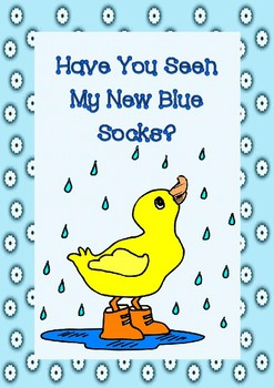 Have You Seen My New Blue Socks? Worksheets