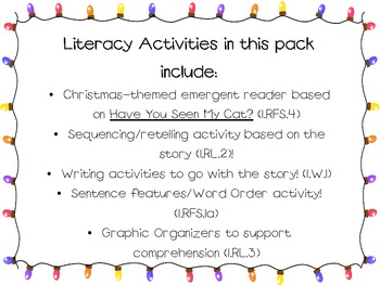 Have You Seen My Reindeer Math And Literacy Activities!