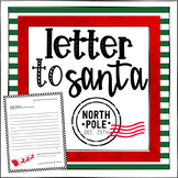 Dear Santa, (Write a letter to Santa!)