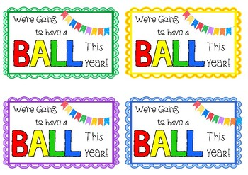 Have a Ball Gift Tags