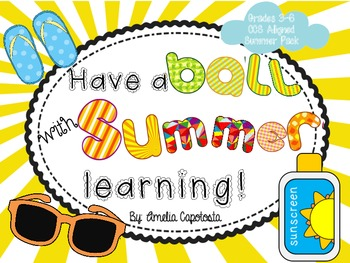 Have a Ball with Summer Learning