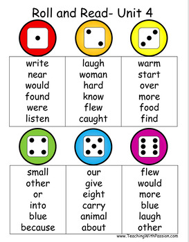 Have a Ball with Wonders High Frequency Words- First Grade