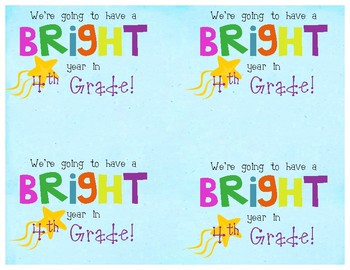 """Have a """"Bright"""" School Year"""
