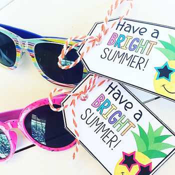 Have a Bright Summer Gift Tags