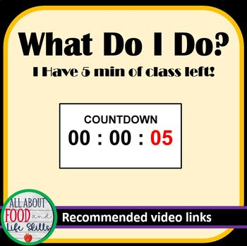 Have a Few Extra Minutes Left of Class? Cool Video Clips