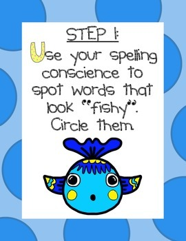 Editing Strategy for Spelling & Writing: Have a Go!