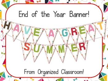 Have a Great Summer Banner