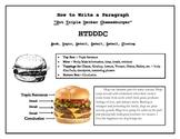 Have a Hamburger: The Parts of a Paragraph Printable Handout