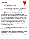 Have a Heart Coordinates Game