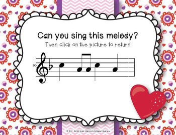 Have a Heart! Melodies - An Interactive Melodic Game - Practice So Mi