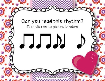 Have a Heart! Rhythms An Interactive Rhythm Game - Practice Syncopa