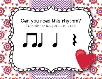 Have a Heart! Rhythms An Interactive Rhythm Game - Practice Ta Rest
