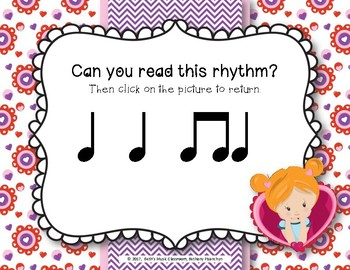 Have a Heart! Rhythms An Interactive Rhythm Game - Practice Ta and Ti-ti