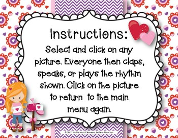 Have a Heart! Rhythms An Interactive Rhythm Game - Practice Ti-tika/Ti-tiri