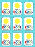 Have a KOOL Summer Gift Tags