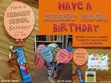 Birthday Balloon Student Gift Template FREE