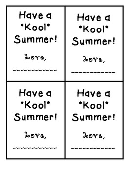 Have a Kool Summer