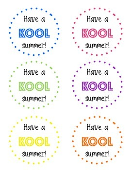 Have a Kool Summer Graphic