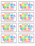 image about Have a Kool Summer Printable called Consist of A Krazy Kool Summer season Worksheets Instruction Supplies TpT