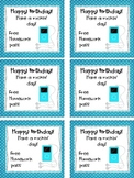 Have a Rockin' Birthday Homework Pass