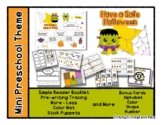 Have a Safe Halloween - Mini Preschool Theme - Routine *o