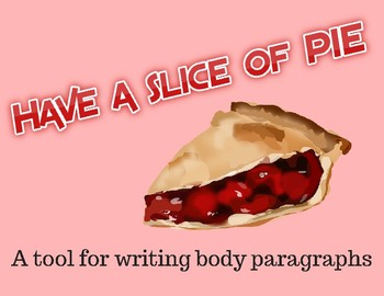 """Have a Slice of """"PIE"""": A Tool for Writing Body Paragraphs"""