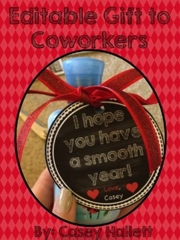 Have a Smooth Year {Gift to Coworker/Teacher}