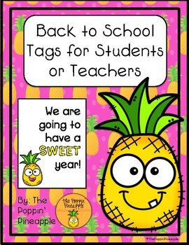 Have a Sweet Year Back to School Tags