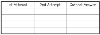 Have a go pad - Spelling Printable - 3 varieties