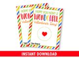 Have a wonDOHful Valentine's Day Play Dough Card Holder, Preschool Exchange Idea