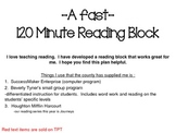 Have an easy reading block