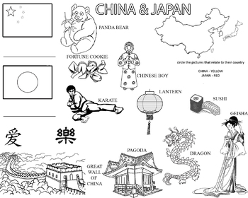Have fun learning about China and Japan