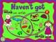 Have got Has got - Powerpoint- Classroom Activity