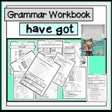 Have got - animal body parts  - grammar workbook