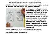 Have got/has got short forms - interactive notebook