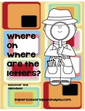 Have you Seen the Letters. Alphabet Mystery Pack