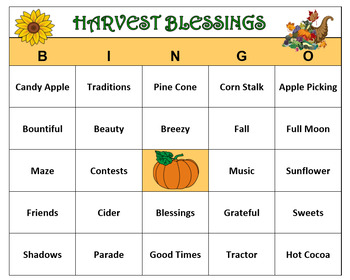 picture regarding Fall Bingo Printable titled Havest Entertaining - Drop Enjoyable- Bingo Match-60 Bingo Playing cards with Get in touch with Words and phrases. Printable!