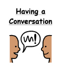Having A Conversation Social Story