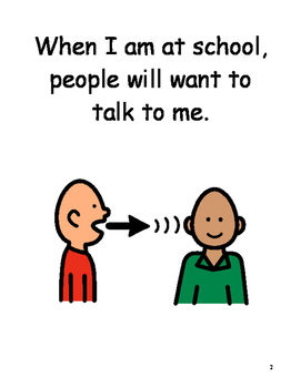 Having A Conversation Social Story