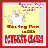 Having Fun with Context Clues